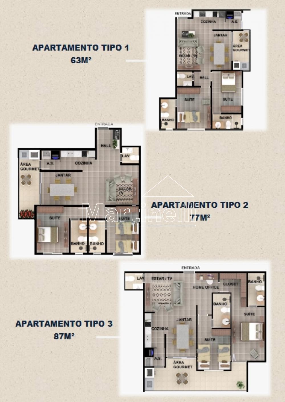 Comprar Apartamento / Padrão em Ribeirão Preto R$ 299.900,00 - Foto 3